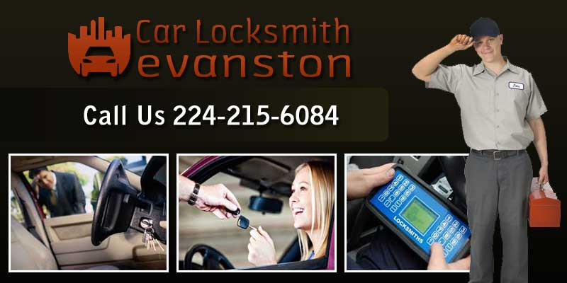 Car Locksmith Evanston Banner